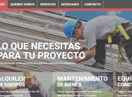 ABE EQUIPOS Estrena Website